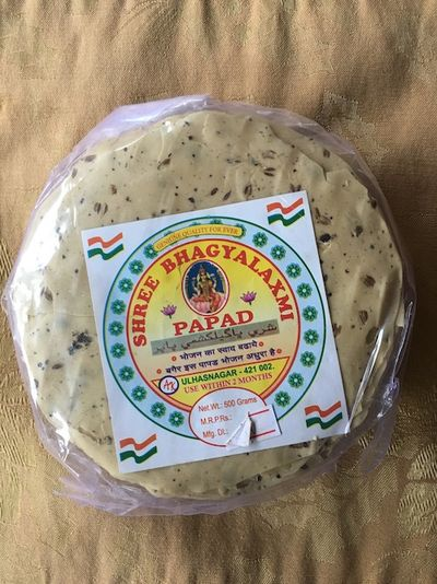 Papad straight from Ulhasnagar, ready to be enjoyed in New Jersey.