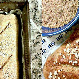Wheat Bran Bread Loaf