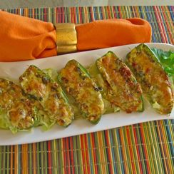Baked Jalapeno Poppers