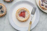 Berry and Frangipane Tartlets