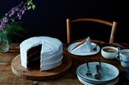 """Devil's Food Cake with """"Piquant"""" Boiled Icing, Late 19th Century"""