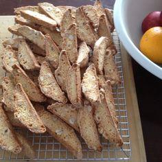 Hazelnut Almond Biscotti