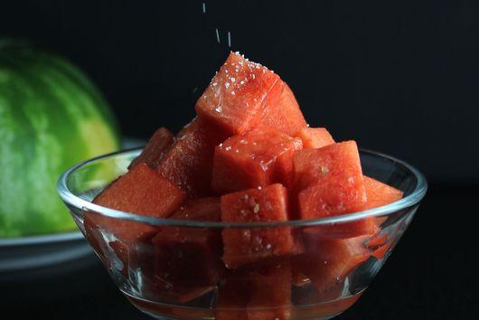 Salt your watermelon!