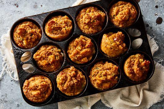 Grandma's Stuffing Muffins