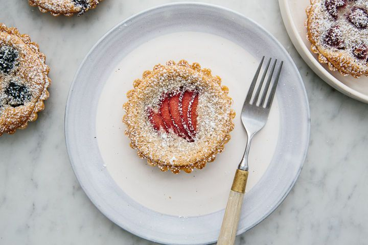 Berry and Frangipane Tartlets on Food52