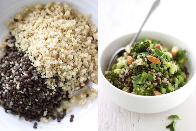 Quinoa & Lentil Bowl