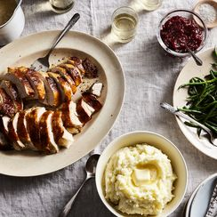 Paul Virant's Make-Ahead Roasted Turkey With Smothered Gravy