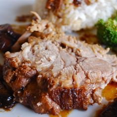 Chinese-American Pork Roast