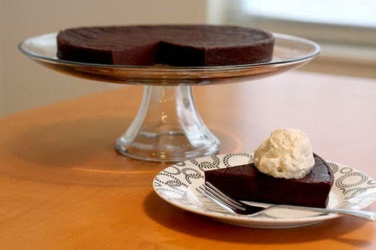 Daisy Martinez's Chocolate-Chile Cake with Ancho Whipped Cream