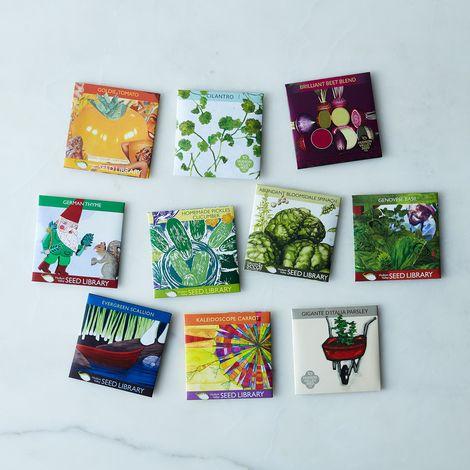 Herb & Vegetable Seeds (Set of 10)