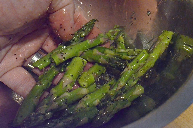 Grilled Dalmatian Asparagus Tips