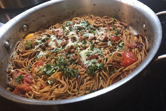 One-Pan Whole Grain Pasta