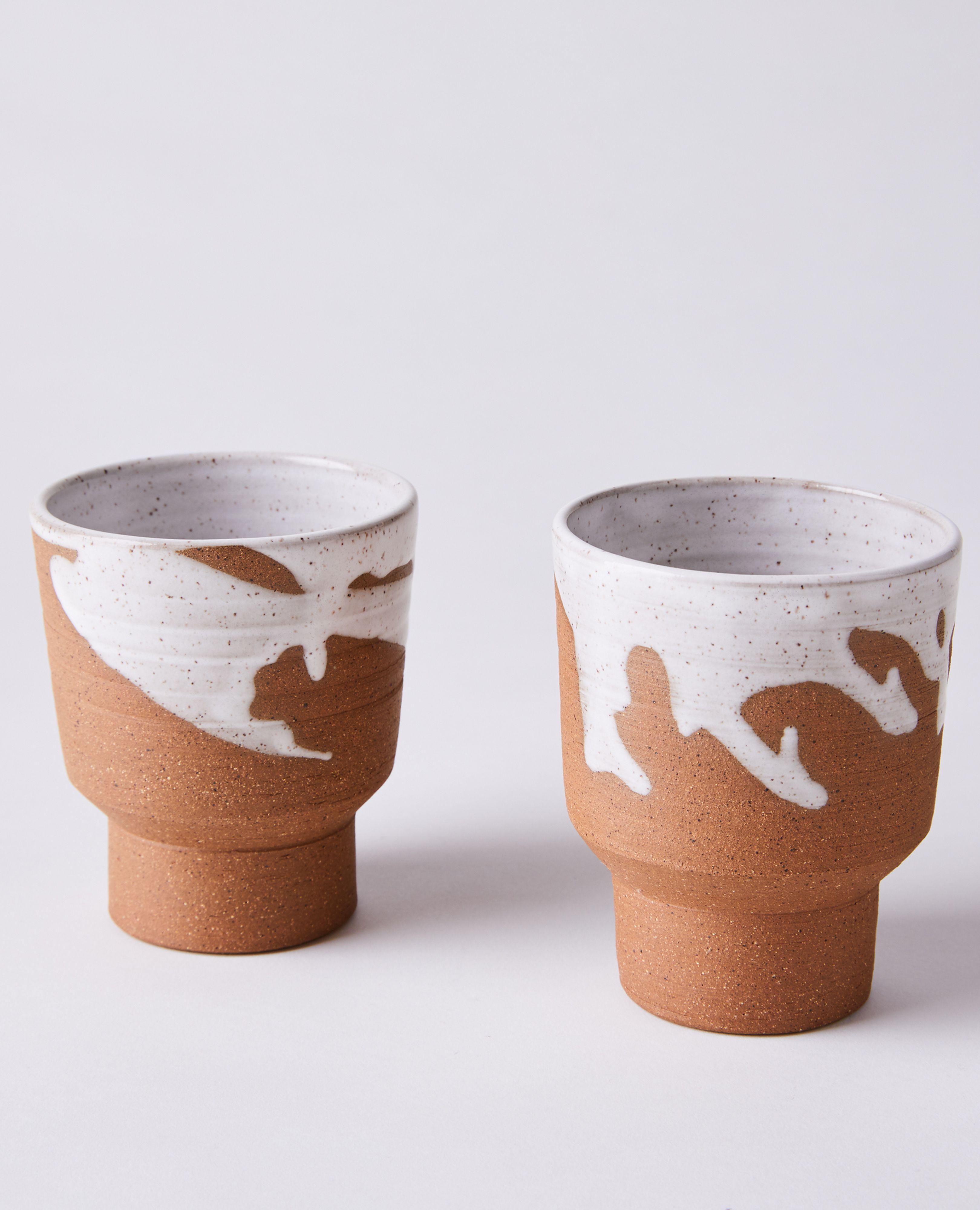 #3 Handmade Stoneware 10oz Mug