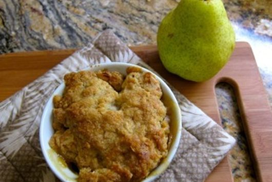 Revenge of the Pear Crisp