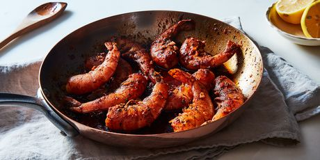 Tender and garlicky Flamin' Cajun Shrimp