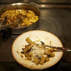 Waste Not Want Not or Thanksgiving Pasta