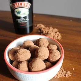 Bailey's Chocolate Truffles