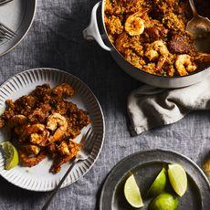 Carolina Shrimp & Sausage Purloo