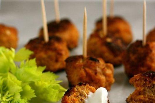 Spicy Buffalo Chicken Meatballs