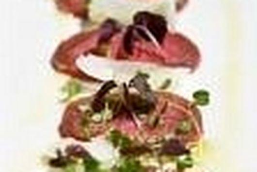 Simple Beef Carpaccio