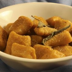 Foolproof Sweet Potato Gnocchi with Browned Butter Sauce