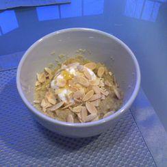 Almond Banana Couscous (ABC) Breakfast