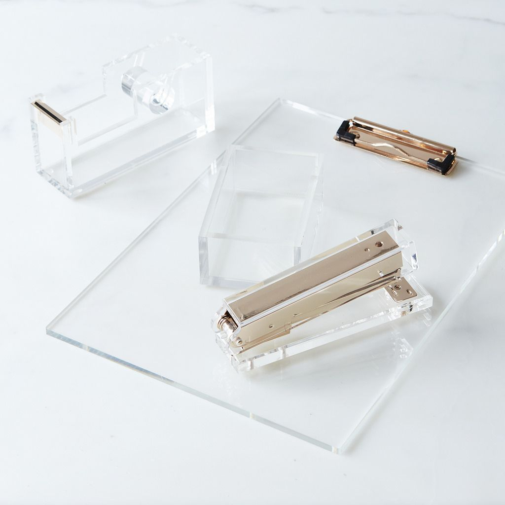 Acrylic Home Office Set