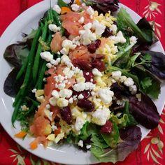 Chopped Salad with Preserved Lemon Vinaigrette