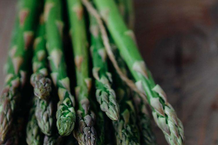 Asian Asparagus Slaw