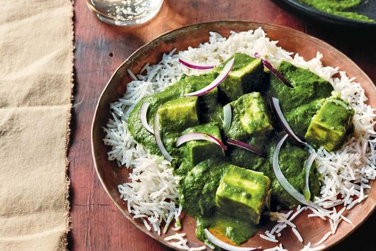 Archana Mundhe's Instant Pot Paneer in Spinach Sauce