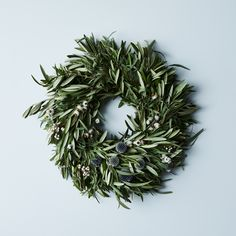 Olive & Thistle Wreath