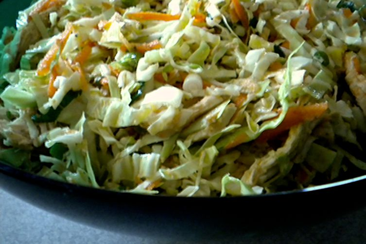 Spiced Chicken Slaw