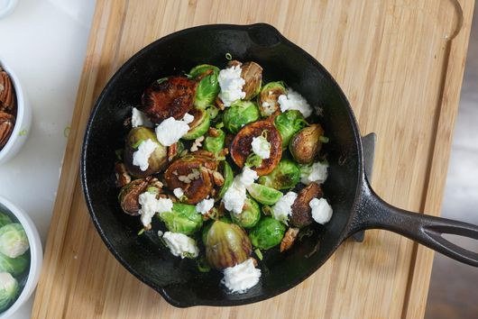 Chef Rōze's Brussels Sprouts
