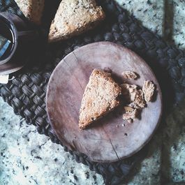 Healthy(ier) Granola and Ricotta Rye Scones