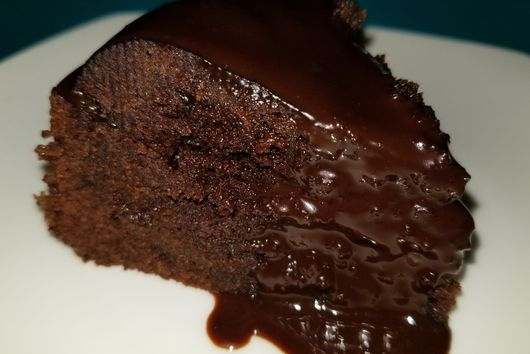 Instant Pot Dark Chocolate Brownie