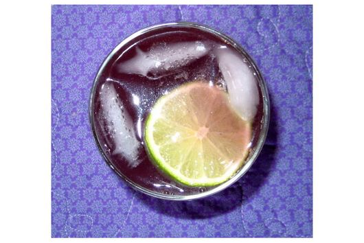 Berry Ginger Lime  Balsamic  Cooler