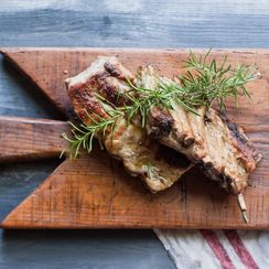 Rosemary Works a Double Shift in These Juicy, Flavorful Ribs