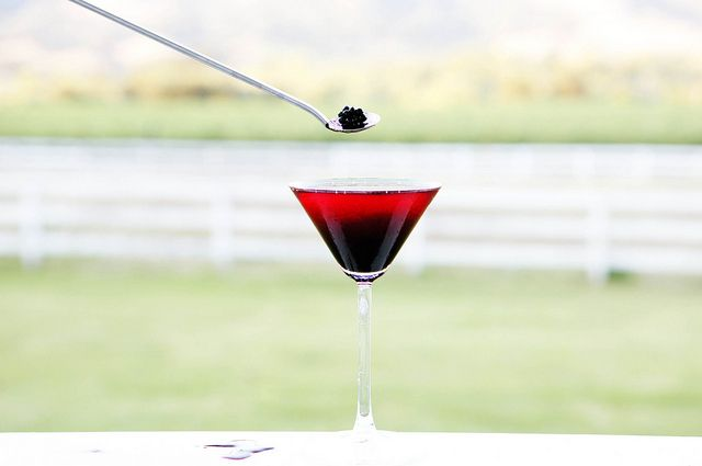 Blackberry Martini from Food52