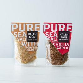 Chili & Roasted Garlic Pure Sea Salt (2 Bags)