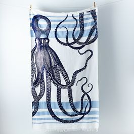 Limited Edition Octopus Banya Towel by thomaspaul