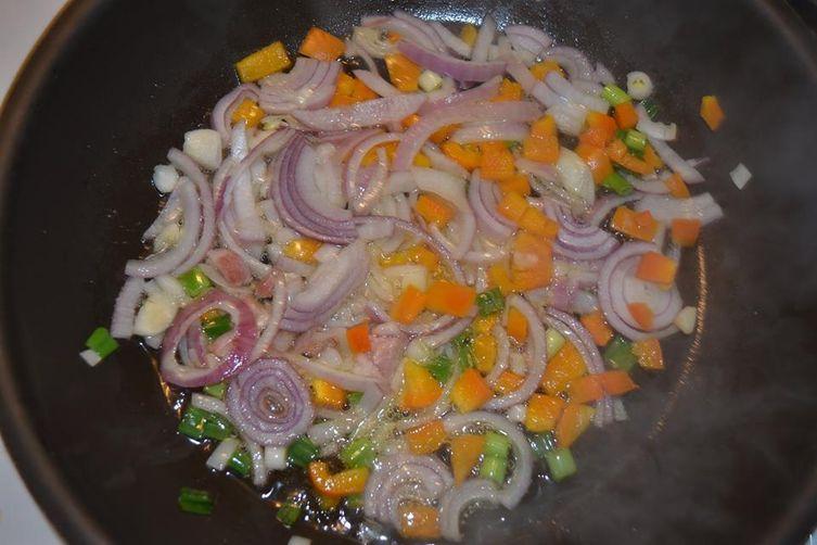 Scallion Macaroni a L`Amlandaise