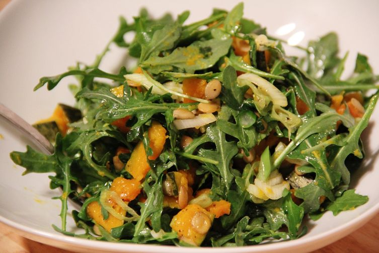 Kabocha Squash and Arugula Salad Recipe on Food52