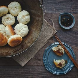 Panfried Pork Steamed Buns (Shengjian Bao)