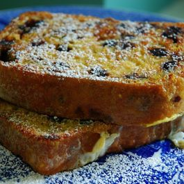 Pain Perdu with Blueberry Lemon Bread