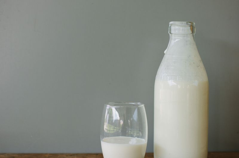 Homemade Milk Kefir