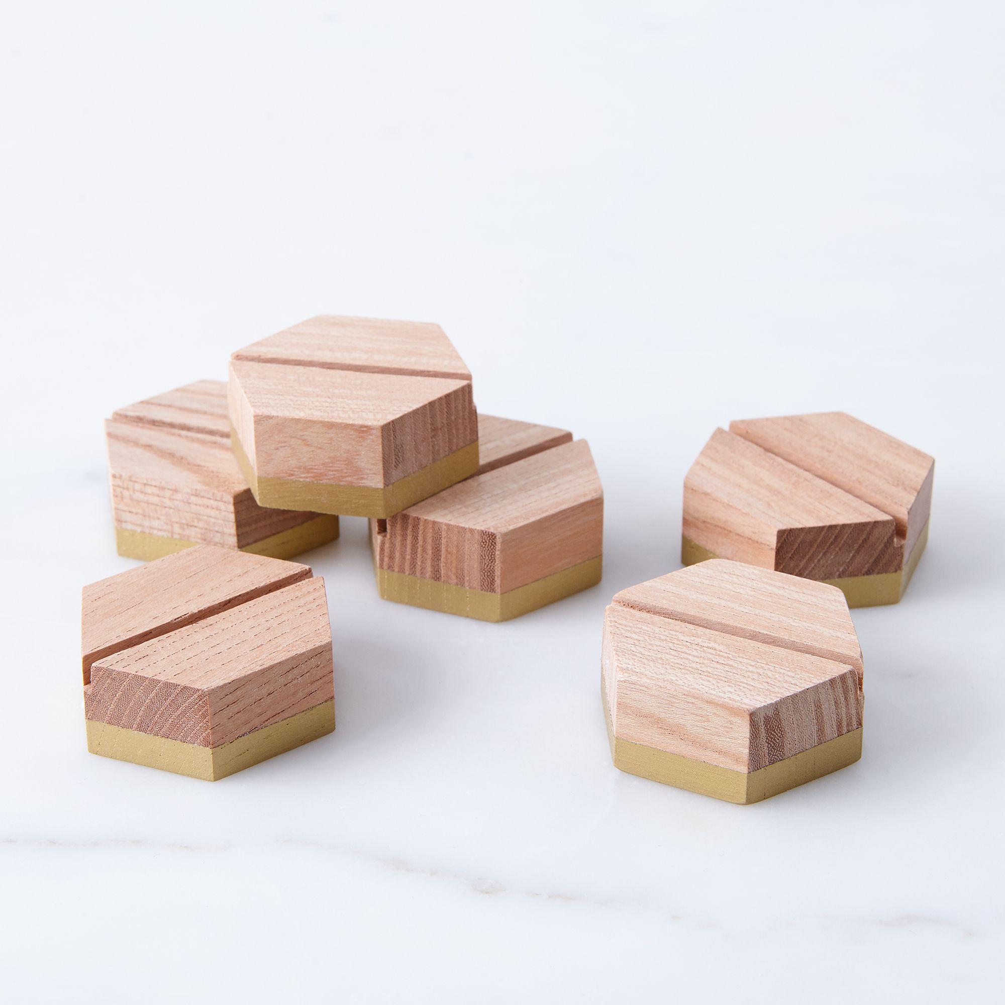 Geometric Placecard Holders Set Of 6 On Food52