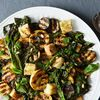 Grilled Bread Salad With Broccoli Rabe & Summer Squash