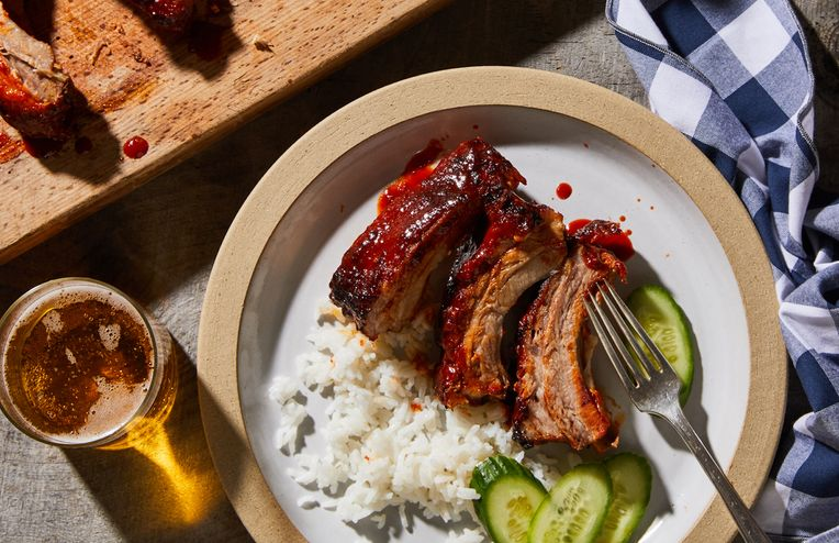 These Sweet & Spicy BBQ Ribs Will Rock Your Sauce-Loving World