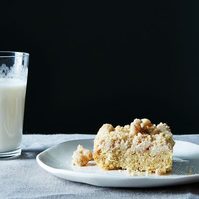 Pomegranate Molasses Crumb Cake