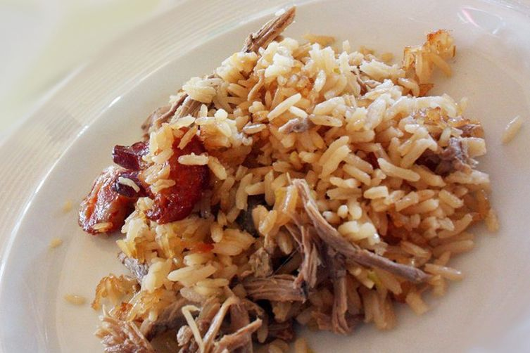 Jacinta's Duck Rice - Arroz de Pato da Jacinta Recipe on